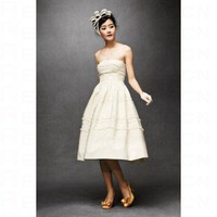 Fondant Tea Wedding Dress BH10