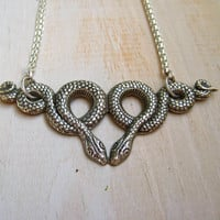 The Matthew A Handmade Recycled Kissing Silver by BANJOandBONE