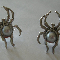 Narcissa Malfoy Spider Earrings by nasakat on Etsy