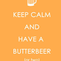 Butterbeer by ParadoxParade on Etsy