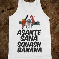 Squash Banana - Protego - Skreened T-shirts, Organic Shirts, Hoodies, Kids Tees, Baby One-Pieces and Tote Bags