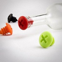 Silicone Bottle Screws