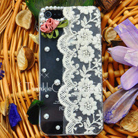 Original Garden Rose Lace Phone Case