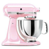 KitchenAid KSM150PSPK Komen Foundation Artisan Series 5-Quart Mixer, Pink