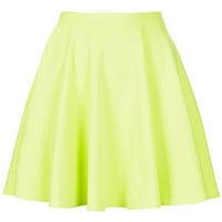 Fluro Mini Skater Skirt - New In This Week  - New In