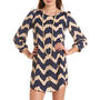 Chevron Stripe Shift Dress: Charlotte Russe