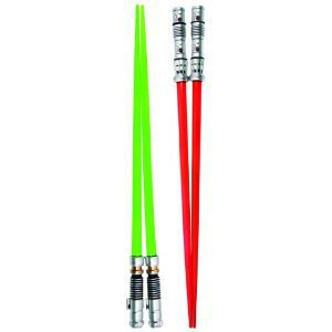Amazon.com: Kotobukiya Star Wars: Darth Maul and Luke Skywalker (Episode VI) Lightsaber Chopsticks Set: Toys & Games
