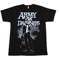 Army of Darkness Distressed Skulls T-Shirt