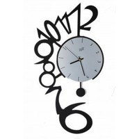 Number Clock - Novelty Pendulum Number Clock For Sale