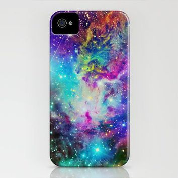 Fox Fur Nebula iPhone Case by Starstuff | Society6