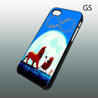 Lion King Hakuna Matata Infinity , Iphone 4 case , Iphone 4s case , iphone 5 case