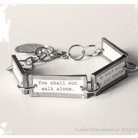 Love Vow Bracelet by KalliasWonderland on Etsy