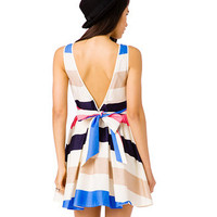 Colorblocked Self-Tie Dress | FOREVER 21 - 2041642824