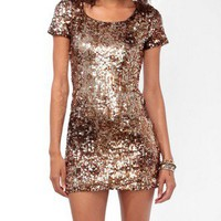 Shimmering Paillette Bodycon Dress | FOREVER 21 - 2021841048