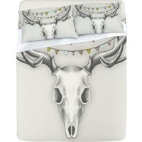 Wesley Bird Skull Sheet Set