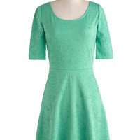 Empire State of Mint Dress | Mod Retro Vintage Dresses | ModCloth.com