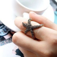 Oh Starfish My Starfish Ring Bronze