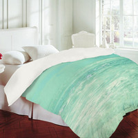 DENY Designs Home Accessories | Lisa Argyropoulos Where Ocean Meets Sky Duvet Cover