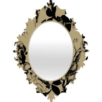 DENY Designs Home Accessories | Pattern State Foxy Loxy Baroque Mirror