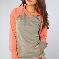 The Park Hoodie in Berry : Burton : Karmaloop.com - Global Concrete Culture
