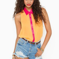Nasty Gal x MINKPINK Erika Shirt in  What's New at Nasty Gal