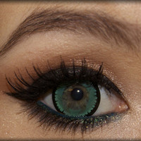 GEO Nova Green circle lens - color contact lenses | EyeCandy's