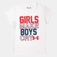 Pre-School UA Girls T-Shirt | 1242347 | Under Armour US