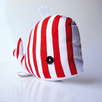 Dorotea the whale 20 Handmade in Italy by contemori on Etsy