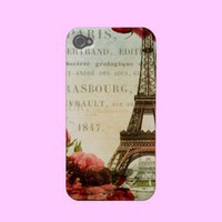 Vintage Eiffel Tower Case-mate Iphone 4 Case