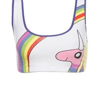 Adventure Time Lady Rainicorn Sports Bra - 300964