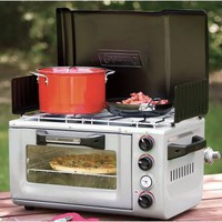 Coleman Outdoor Portable Oven/Stove, Camp &amp; Blind Stoves, Outdoor Cooking, Camping : Cabela&#x27;s