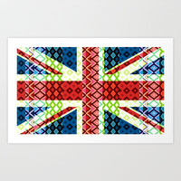 Great Britain Flag #3 Art Print by Ornaart