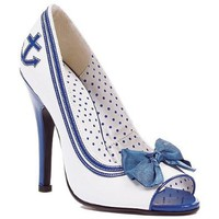 Ellie Shoes Women`s 511-ANCHOR 5&amp;quot; Pump with Anchor: Shoes