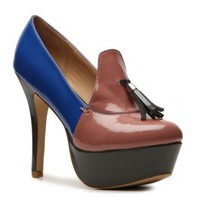 Lovely People Agnes Pump Peep Toes Pumps & Heels Women's Shoes - DSW