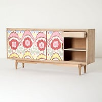 Handpainted Ikat Console
