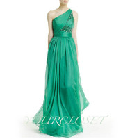 Elegant beading chiffon floor-length prom dress from Your Closets