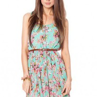 Avonlea Floral Dress - ShopSosie.com