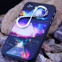 iphone 4/4S Galaxry  &amp; nfinity Dream iphone Case ,iphione 4S  ETSY Cover 4S