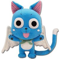 "Amazon.com: Fairy Tail Happy 8"" Plush: Toys & Games"
