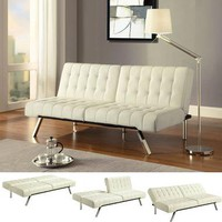 Convertible Futon - Vanilla | Home Living | SkyMall