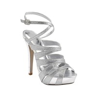 Womens SHI by Journeys Glisten Heel, Silver, at Journeys Shoes
