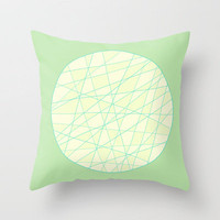Spring Mood Throw Pillow by Anita Ivancenko