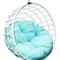 Outback Company UBC-996 Urban Balance Sphere Rattan, White: Patio, Lawn & Garden