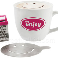 ENJOY CAPPUCCINO MUG GIFT SET