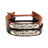 Leather Horoscope Bracelets - Bracelets - Jewelry | GYPSY WARRIOR