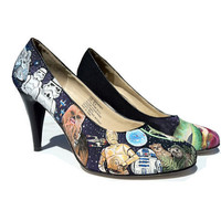 SALE  25 BUCKS OFF  Custom Hand Painted Heels by eastbaycalifornia