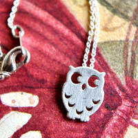 Owl Be There For You Necklace