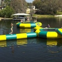 Kidwise 20`. Water Trampoline Log: Toys &amp; Games