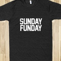 Sunday Funday - Awesome fun #$!!*& - Skreened T-shirts, Organic Shirts, Hoodies, Kids Tees, Baby One-Pieces and Tote Bags