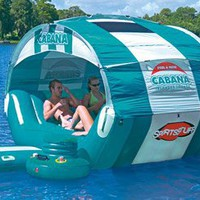 SportsStuff Cabana Islander Floating Lounge